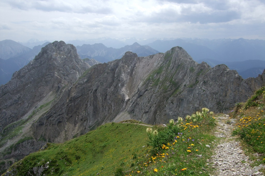 Noe-Steig und Mittenwalder KS