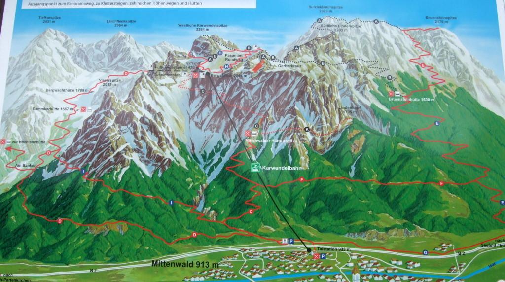 Karwendelbahn 2244 m
