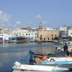 Der alte Hafen von Bizerte, direkt dahinter liegt die sehenswerte Altstadt