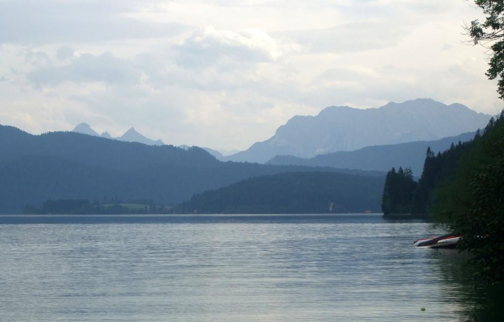 Walchensee, mein Badeplatz