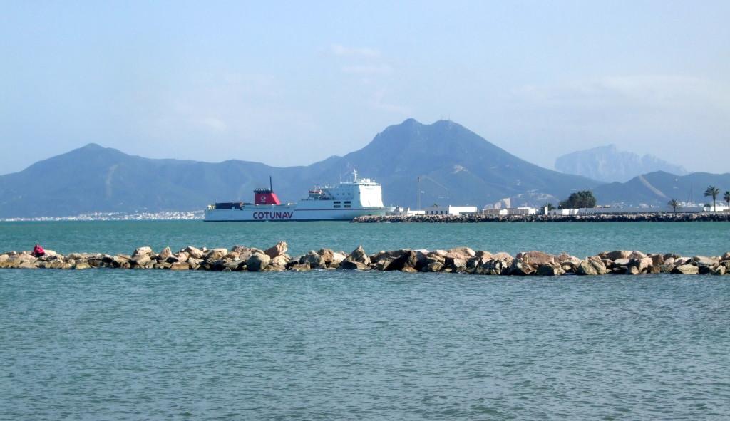 La Goulette ist ein Vorort von Tunis und Tunesiens größter Hafen.