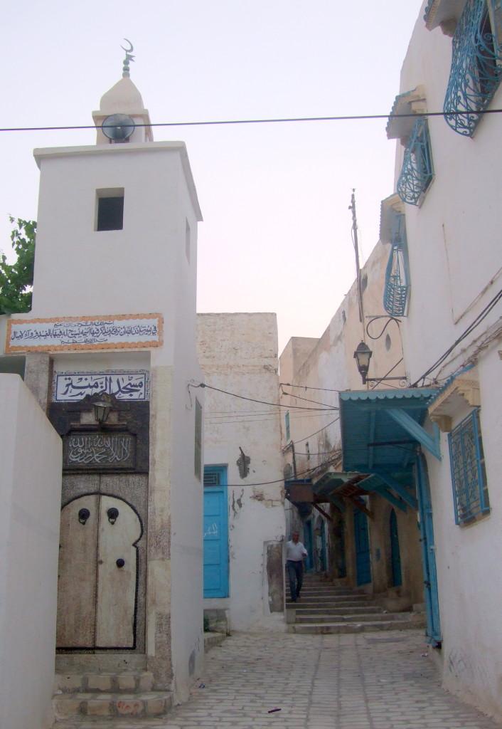 Im Wohnbereich der Medina geht es ruhiger zu