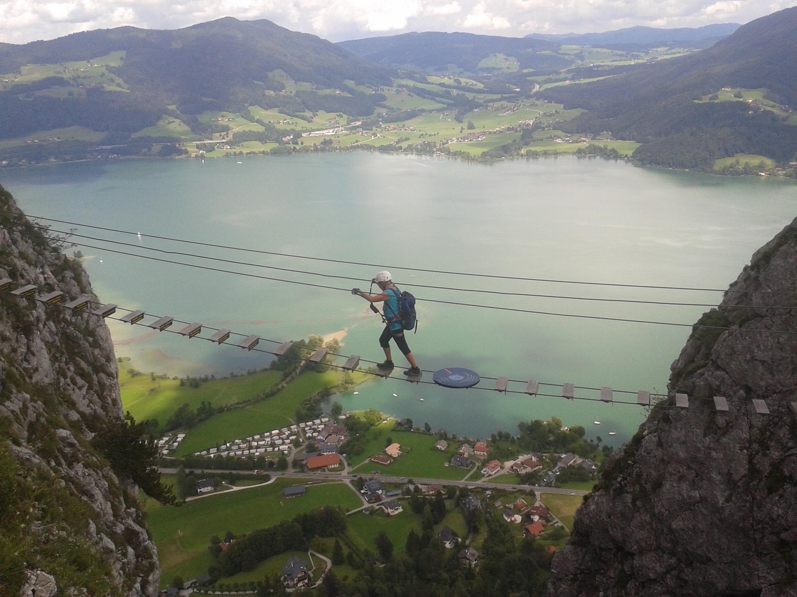 Klettersteig Drachenwand Topo : Drachenwand klettersteig dachstein lisa unterwegs