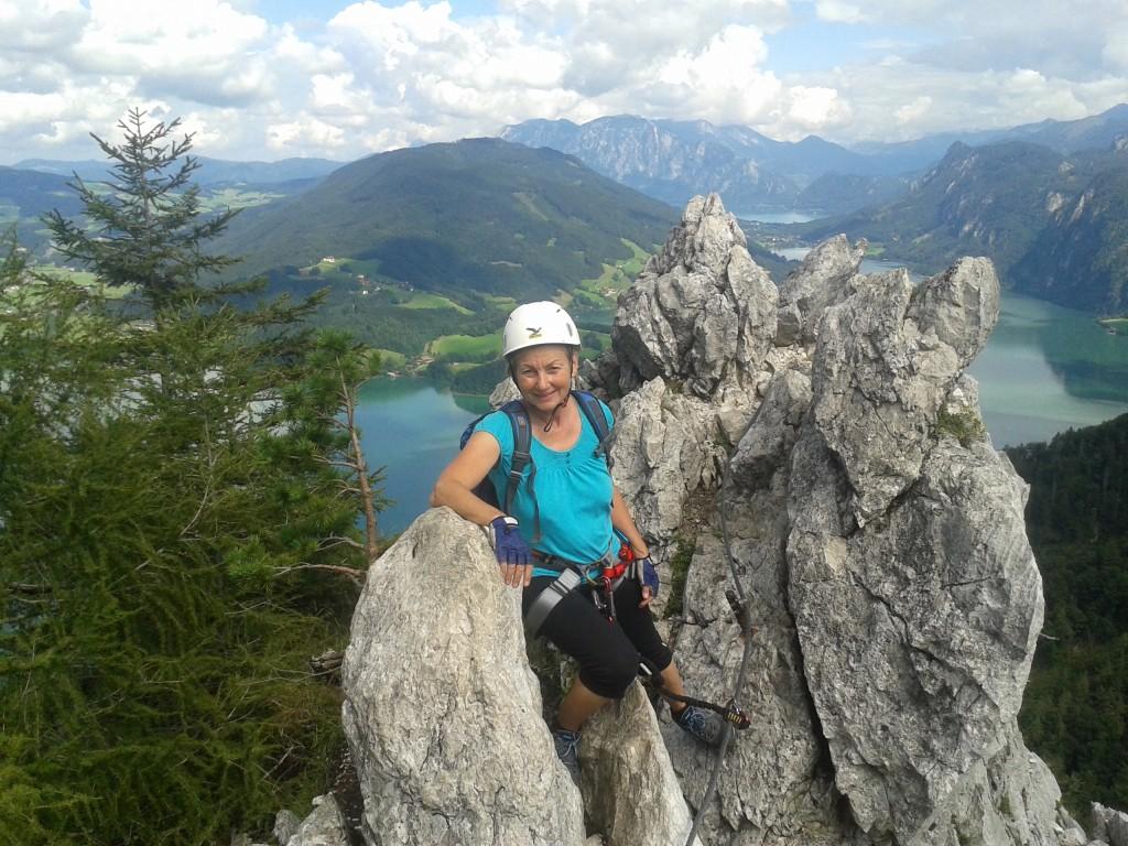 Ein wunderbarer Auftakt unserer Klettersteigwoche am Dachstein!