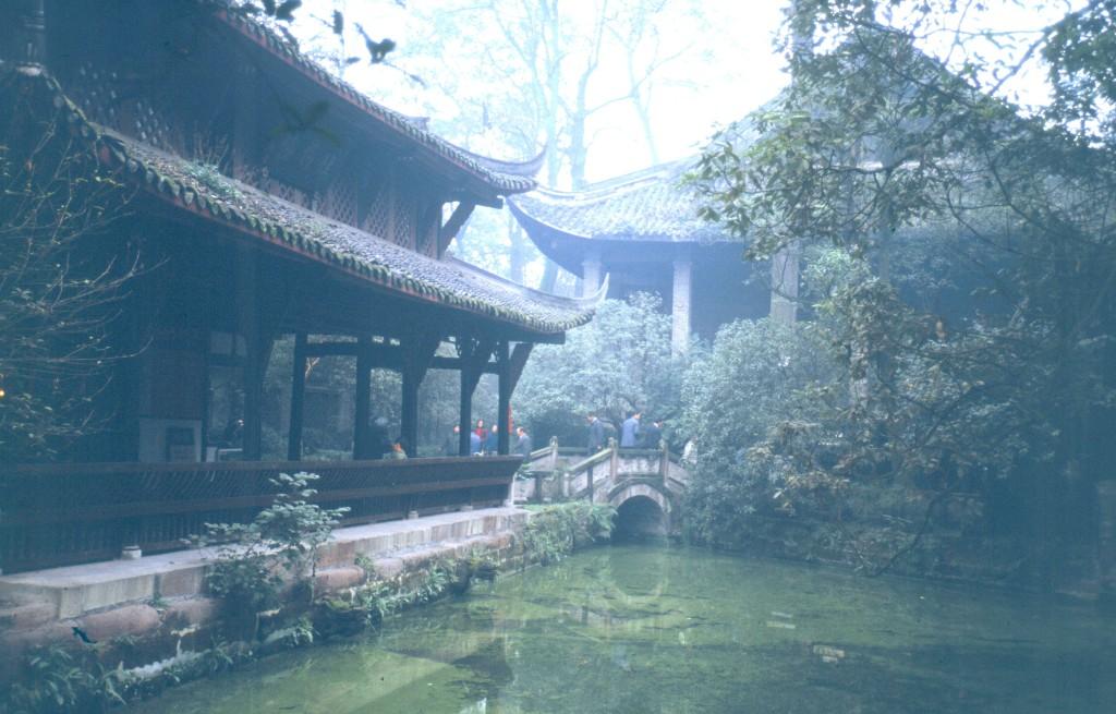 Der Park erinnert an den Dichter Du Fu