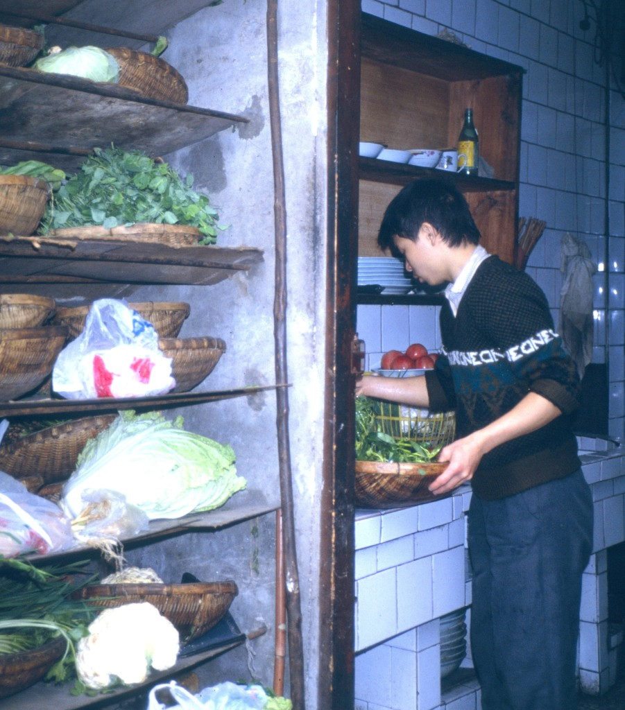 Restaurant in Leshan 1991