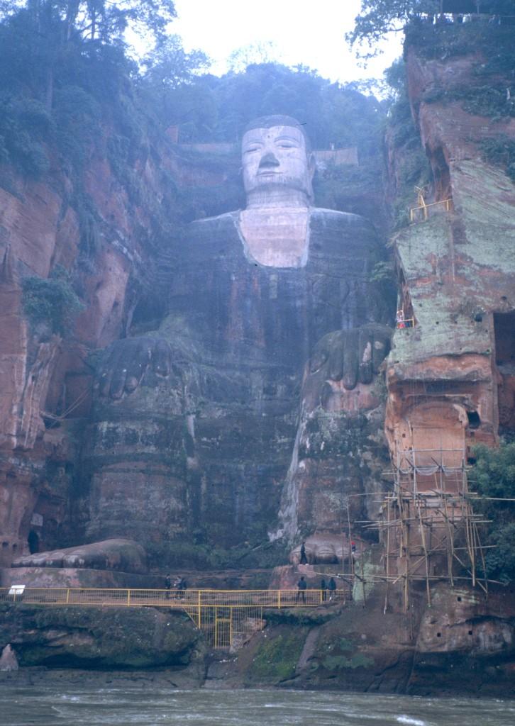 Buddhastatue von Leshan