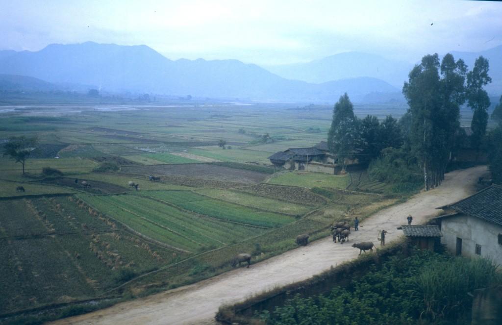 Bauernland in Westchina 1991