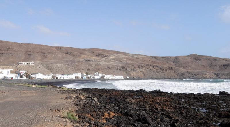 Die Bucht von Pozo Negro, Ziel unserer Wanderung