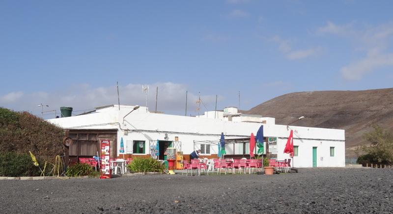 Fischlokal in Pozo Negro