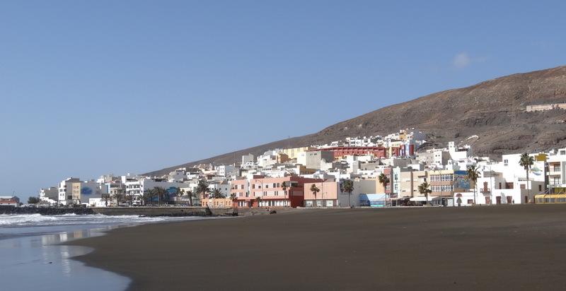 Ein kleines Hafenstädtchen mit angenehmer Strandpromenade