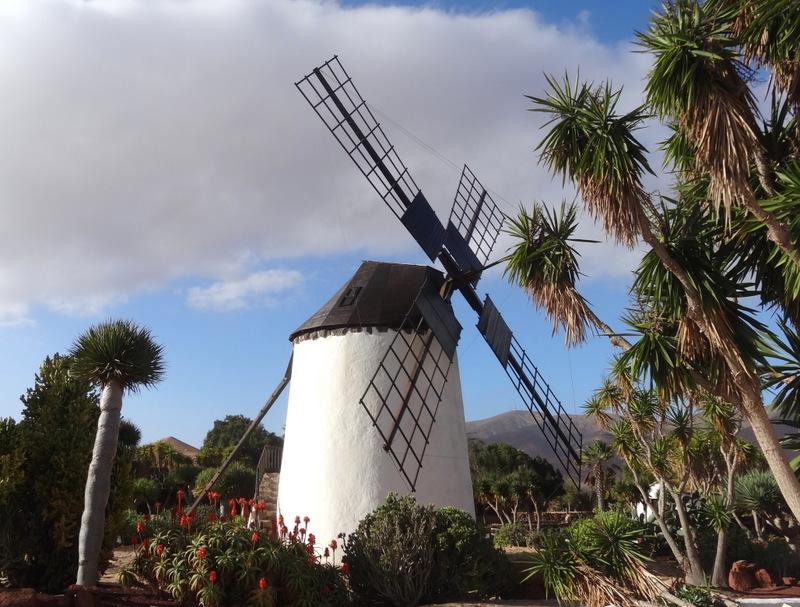 Molino de Antigua, Mühlen-Museumsanlage in einem wunderschönen Garten