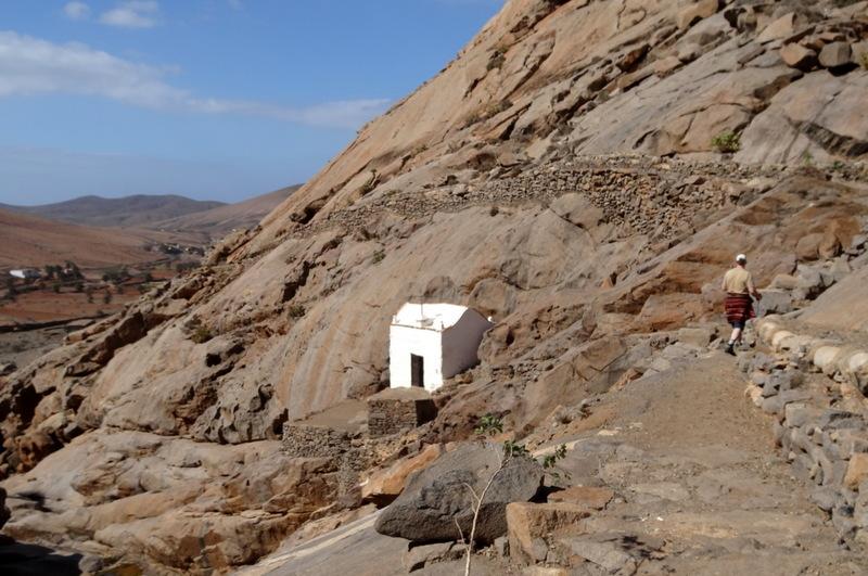 Die Wallfahrtskapelle in der Felsenschlucht