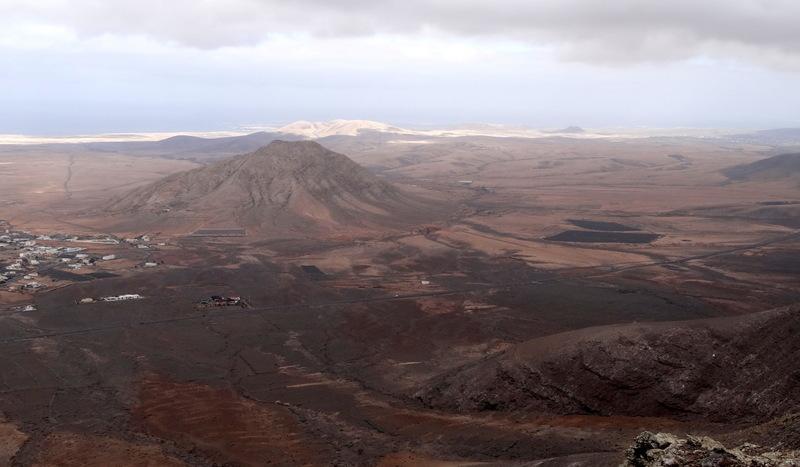 Der heilige Berg und der Ort Tindaya