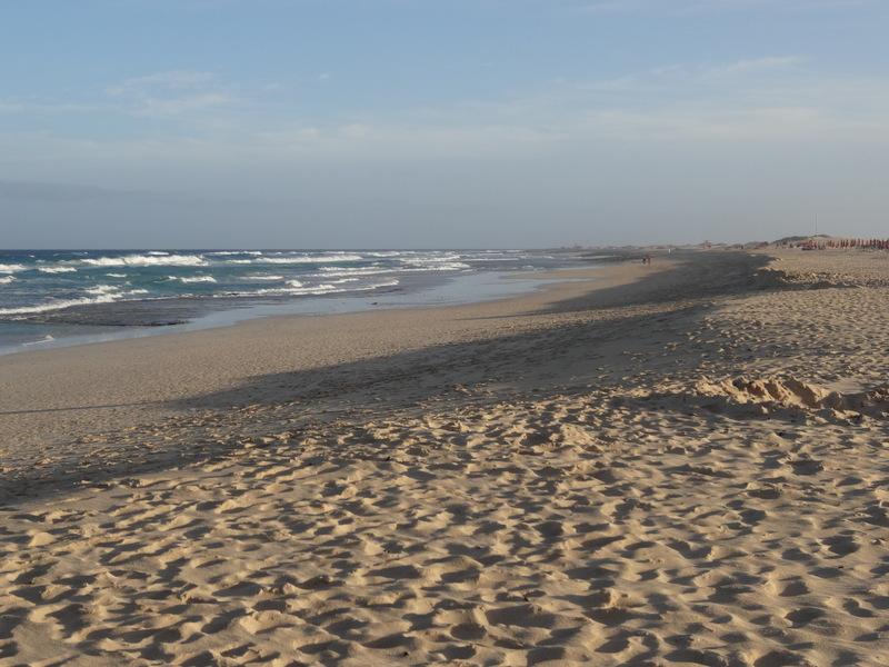 Sahara-Sand soweit das Auge reicht