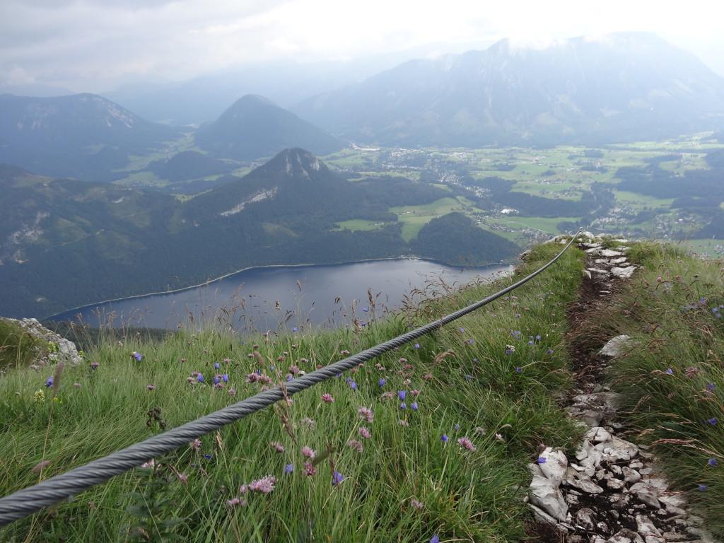 Panoramablick und Altaussee-See