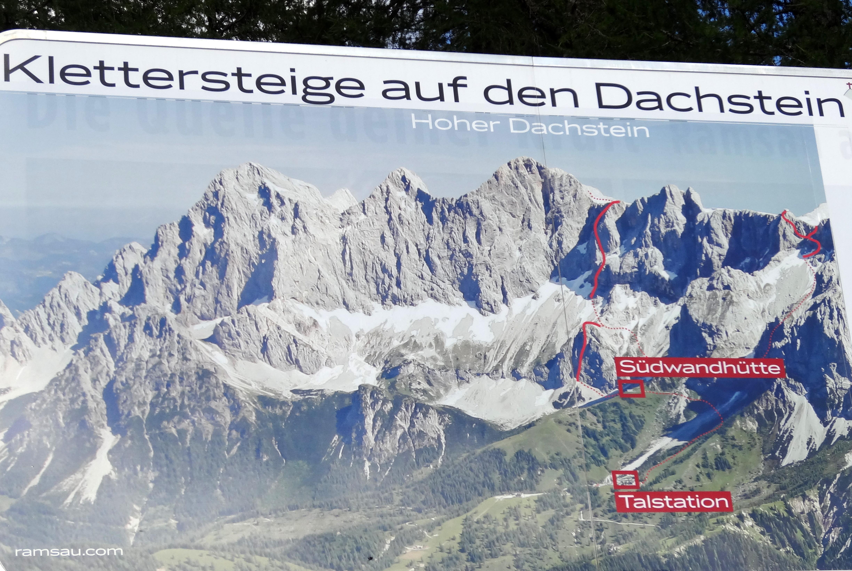 Klettersteig Johann Dachstein : Neuer rekord klettersteig am dachstein reise urlaub