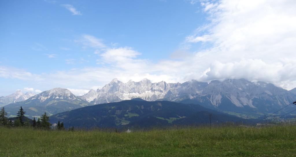 Dachstein-Blick von der Reiteralm