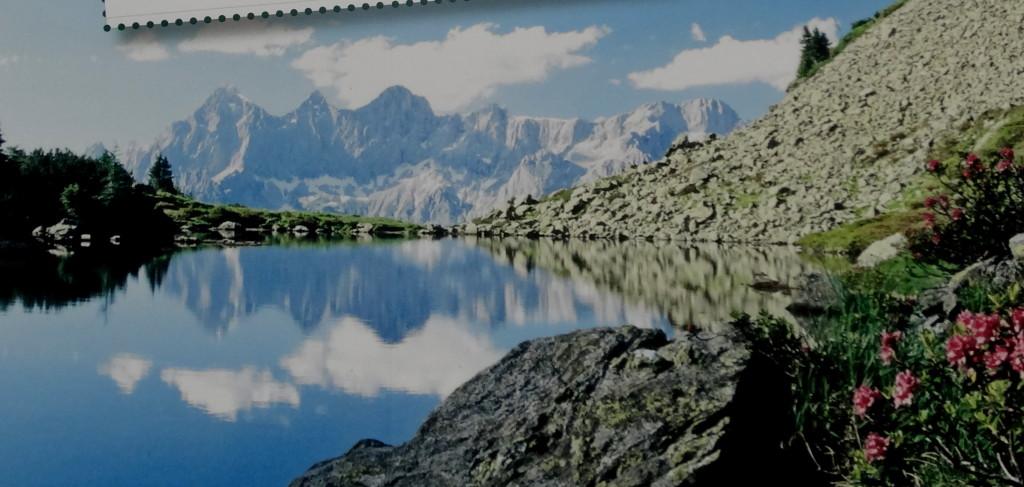 Der Rundwanderweg führt zum Spiegelsee