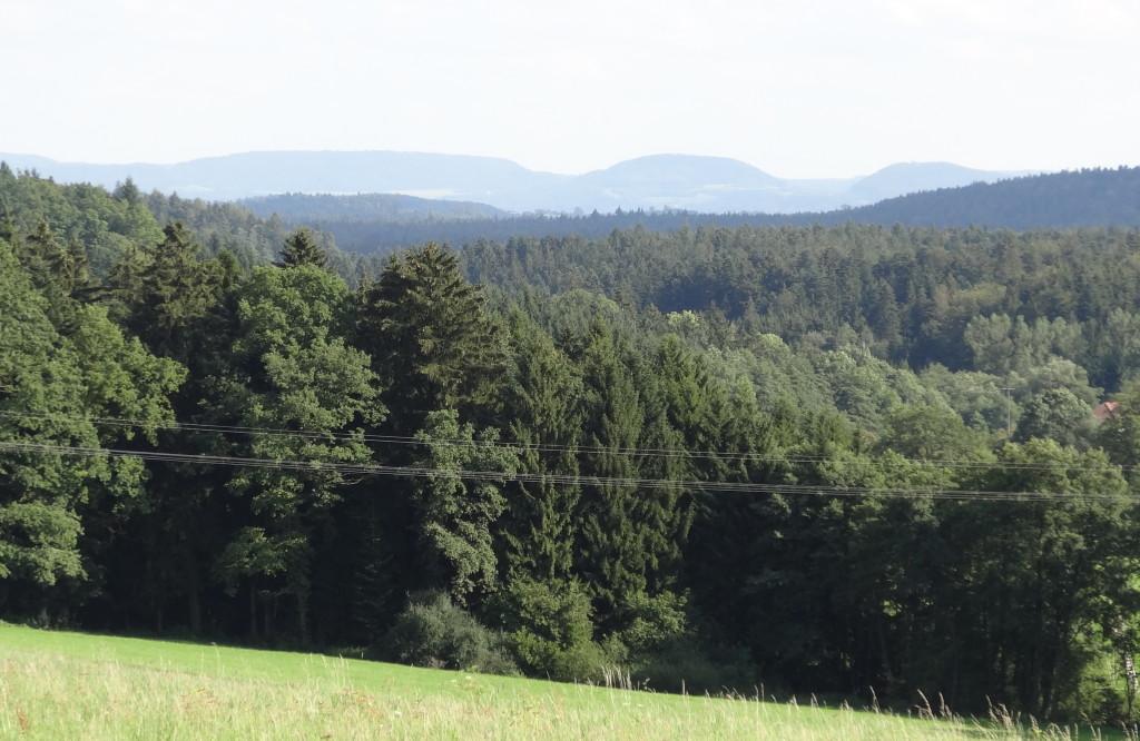 Kaiserberge von Kaisersbach aus