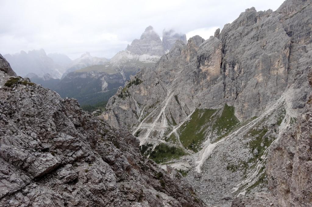 Zu meiner Überraschung gibt es noch einen zweiten Aufstieg zur Forcella del Diavolo