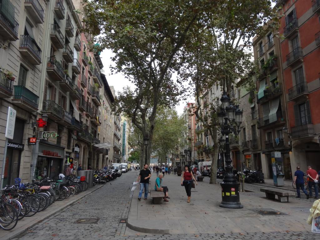Der Passeig El Born führt von der Meeres-Kathedrale zum Kulturzentrum