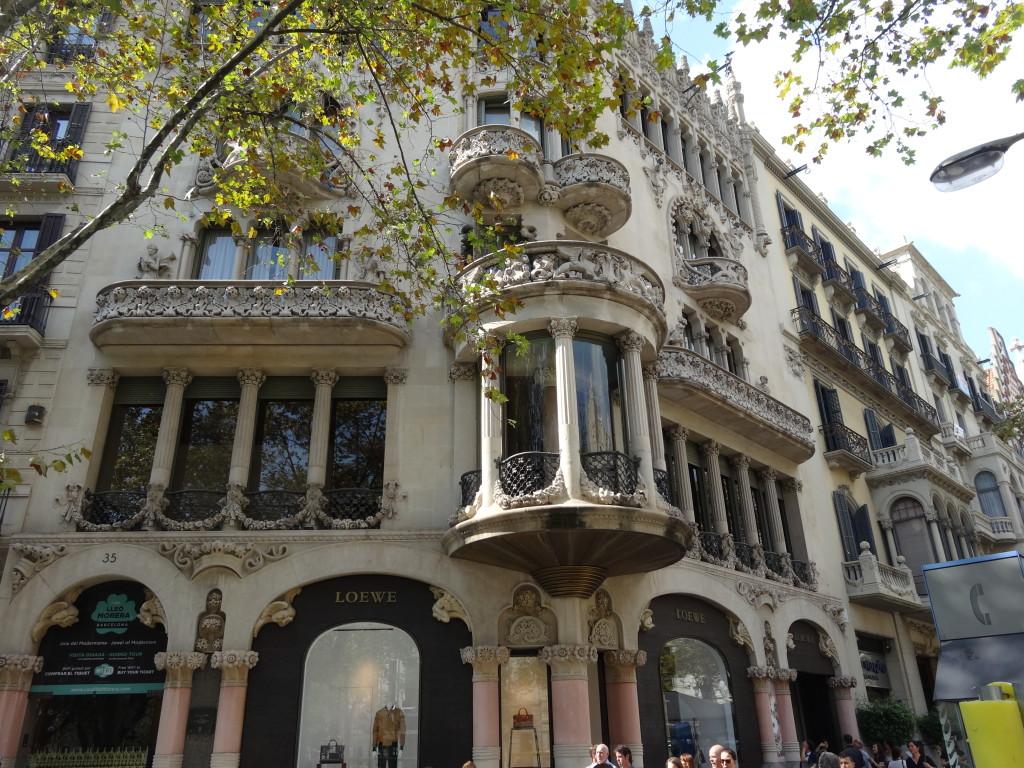 Der dritte Star-Architekt im Bunde: Doménech i Montaners baute 1905 das Casa Morera