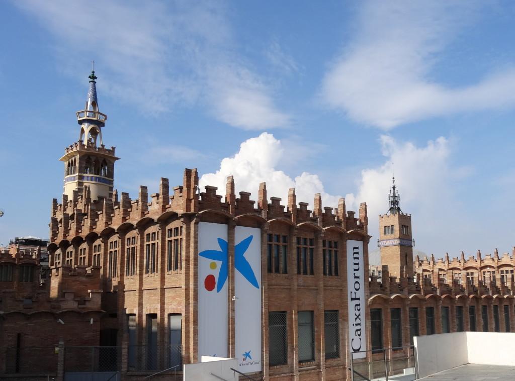Caixa-Forum, Zeitgenössische Kunst, Barcelona