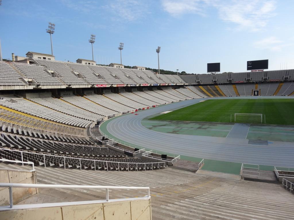Olympiastadion von 1929, Olympiade 1992