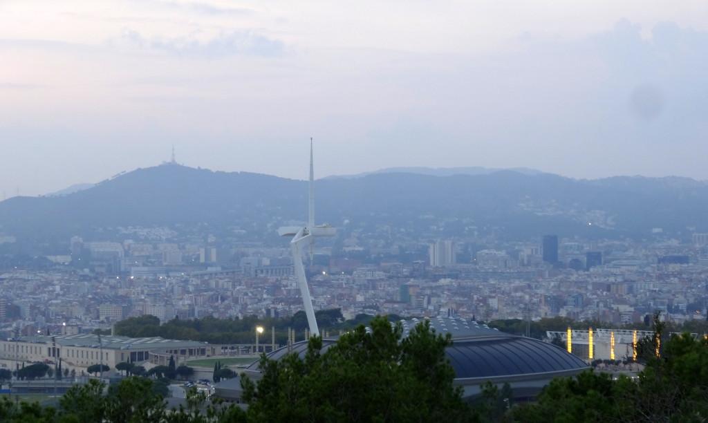 Der Telekommunikationsturm beim Olympia-Stadion, Barcelona