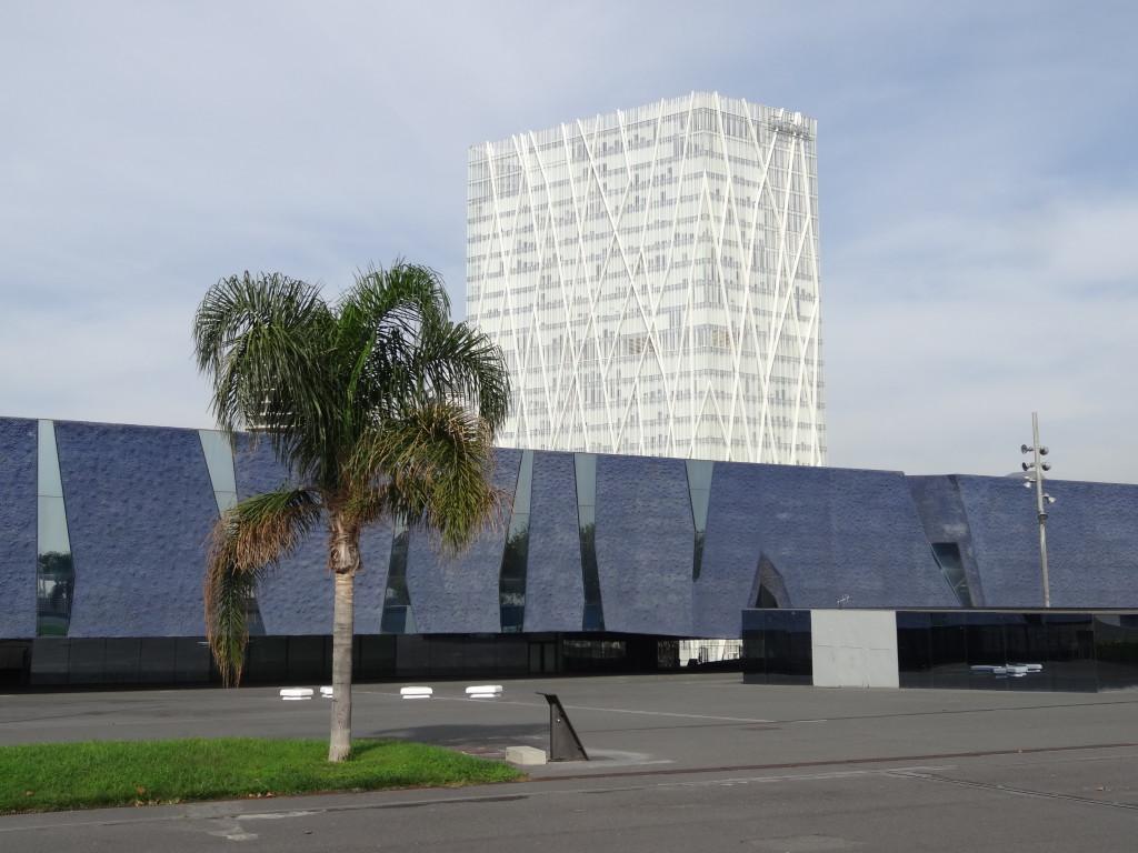 Die ehemalige Ausstellungshalle, das Edifici Forum beherbergt seit 2011 das Museu Blau, das naturwissenschaftliche Themen spannend inszeniert