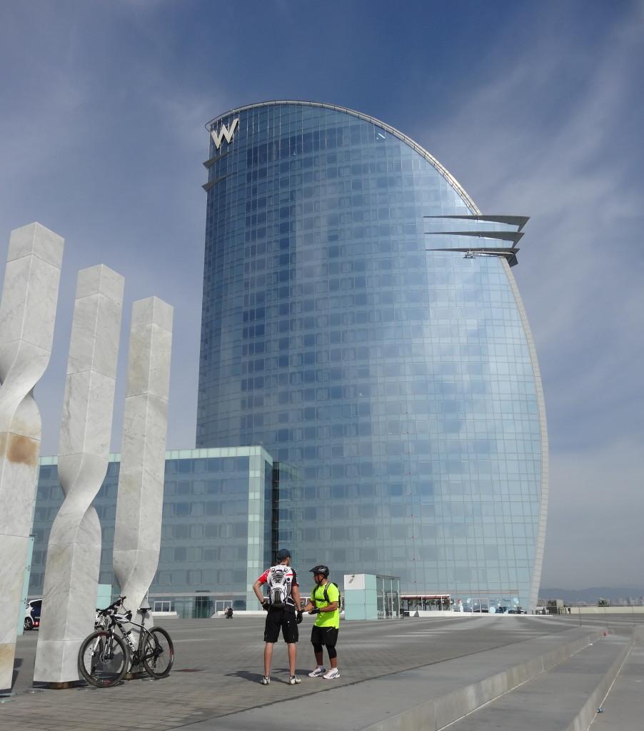 Das gigantische W-Hotel