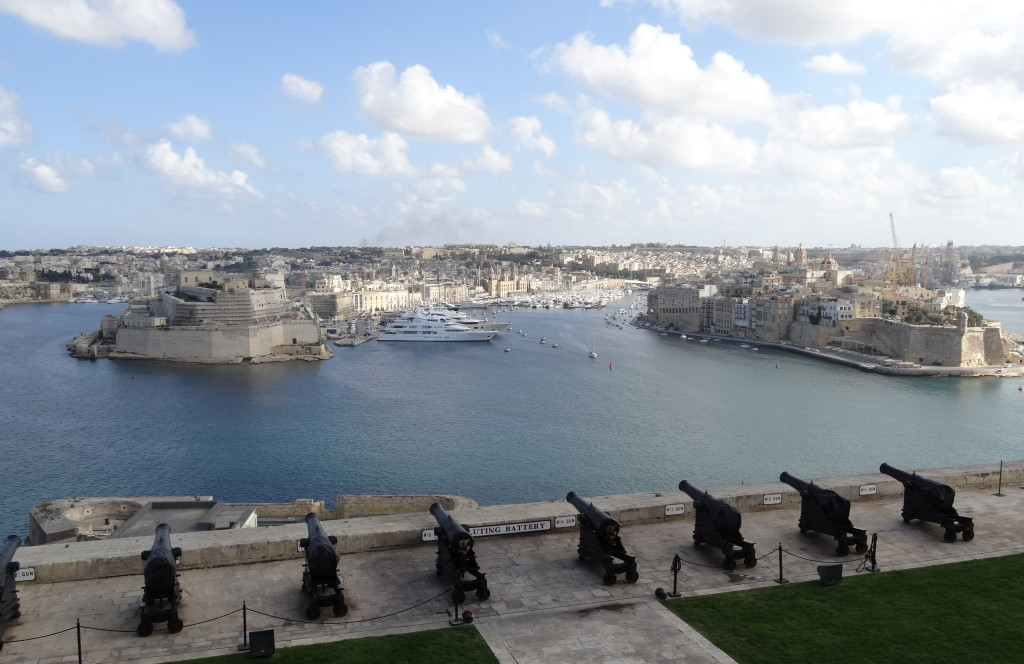 Valletta, Upper Barracca Garden