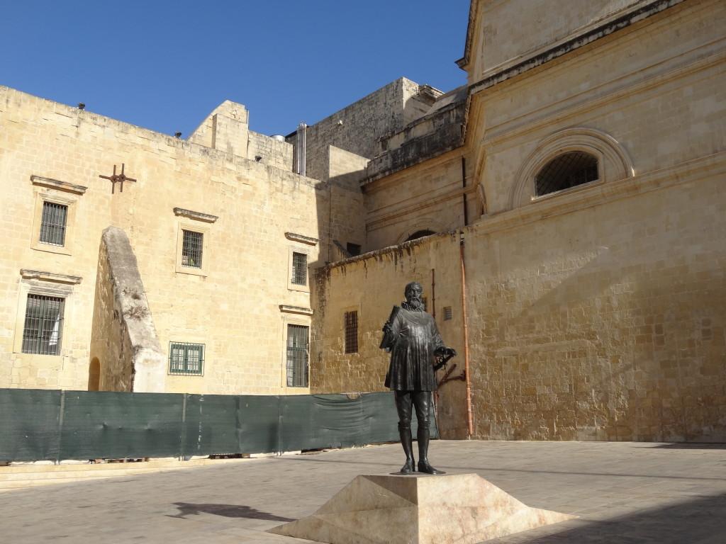 Der Großmeister Valletta, Namensgeber der neuen Festungsstadt Valletta