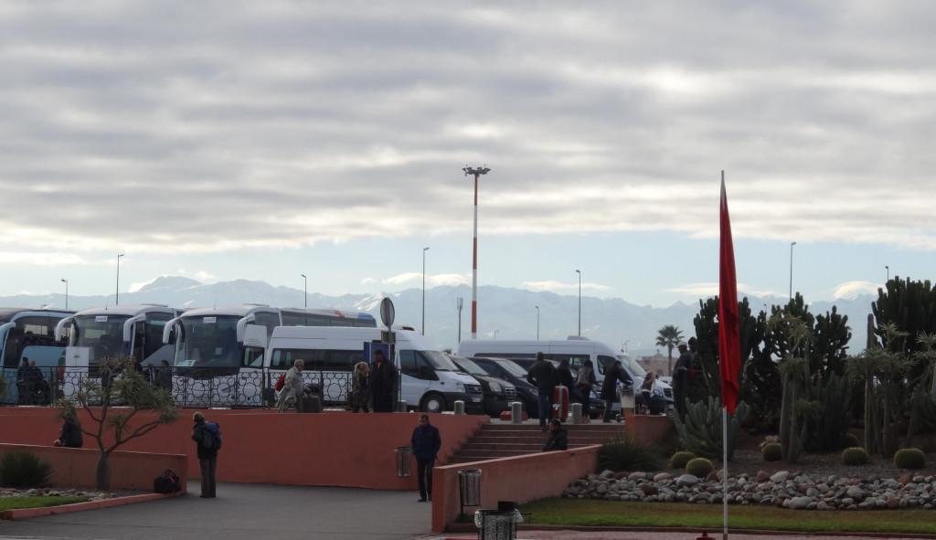 Flughafen Marrakech und RSD-Busse