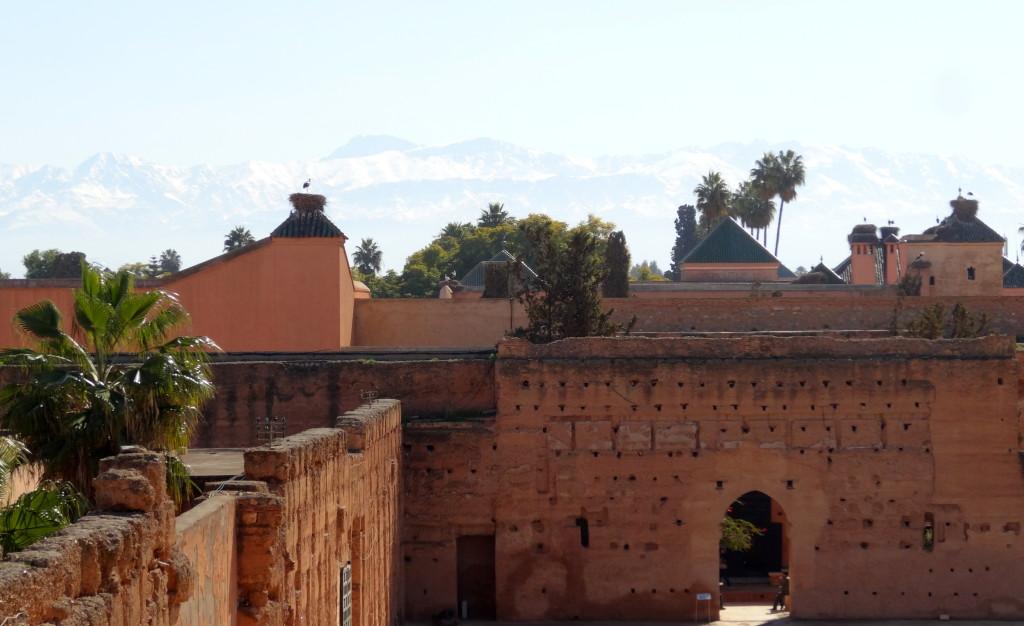 Palais el Badi, 16. Jh