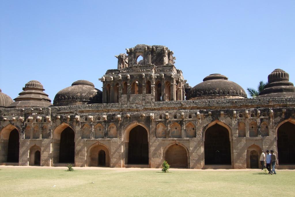 Stall der Tempelelefanten