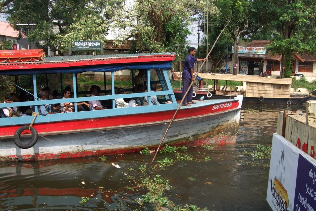 Alleppey - Kottayam, 3 Stunden