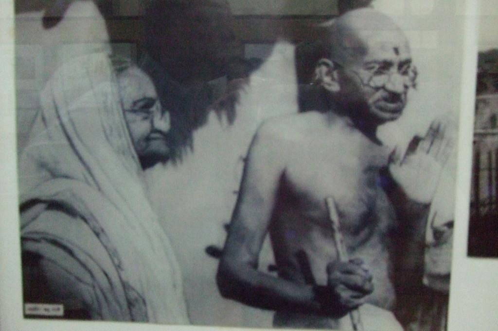 Ghandi und Kasturba