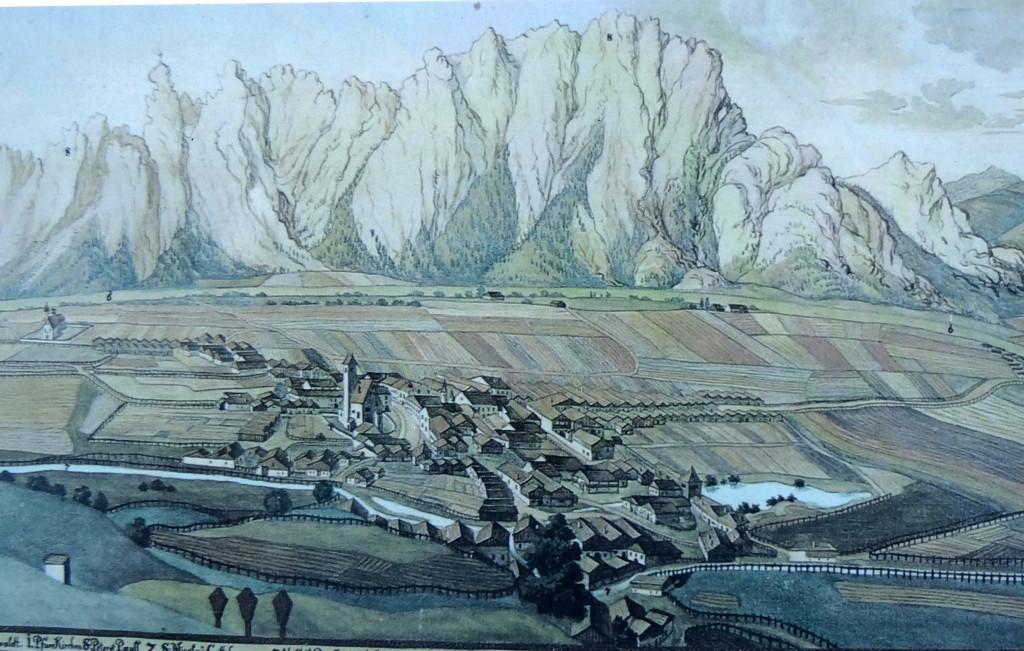 Mittenwald um 1700