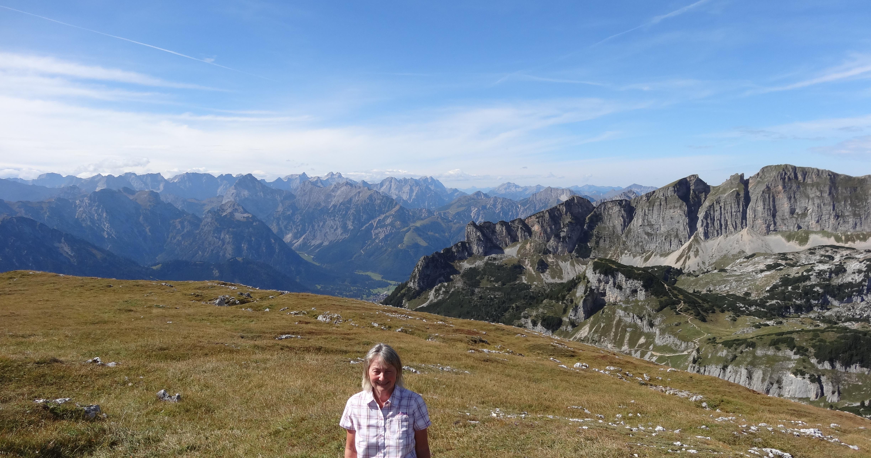 Klettersteig Achensee : Schild fünfgipfel klettersteig achensee u sportalpen