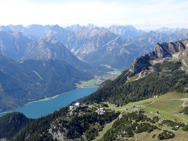 Klettersteig Achensee : Achensee 5 gipfel klettersteig in zwei etappen lisa unterwegs