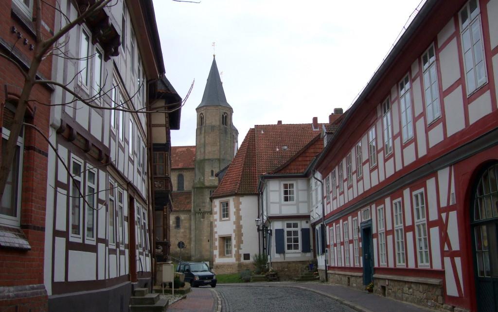 Fachwerkviertel und St. Godehard