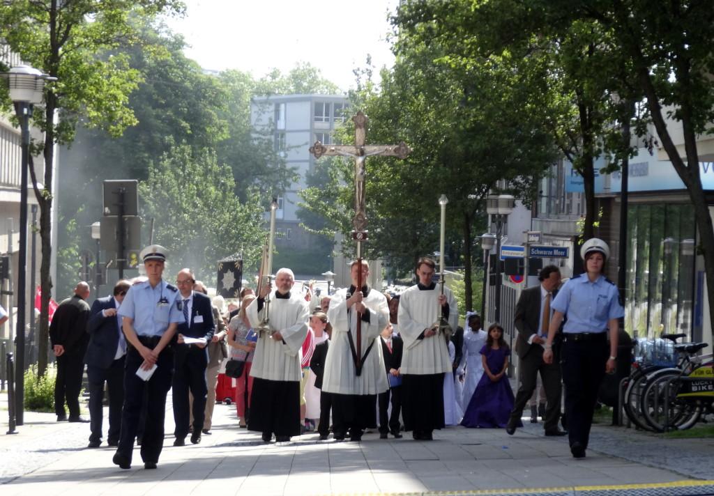Fronleichnams-Prozession