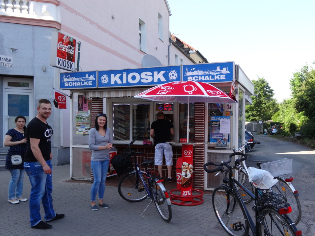 Kiosk Schalke