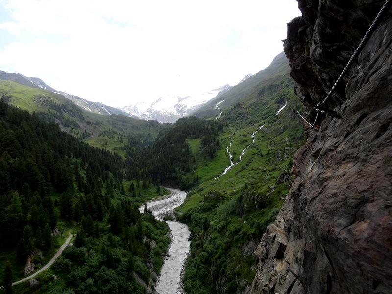 Klettersteig Zirbenwald : Obergurgler klettersteig zirbenwald Ötztal lisa unterwegs