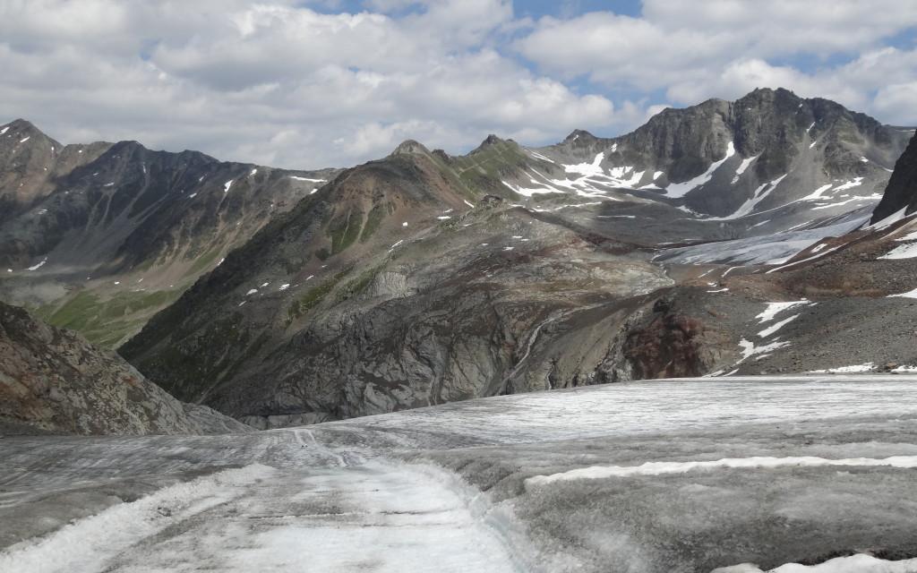 Gletscherweg zur Braunschweiger Hütte