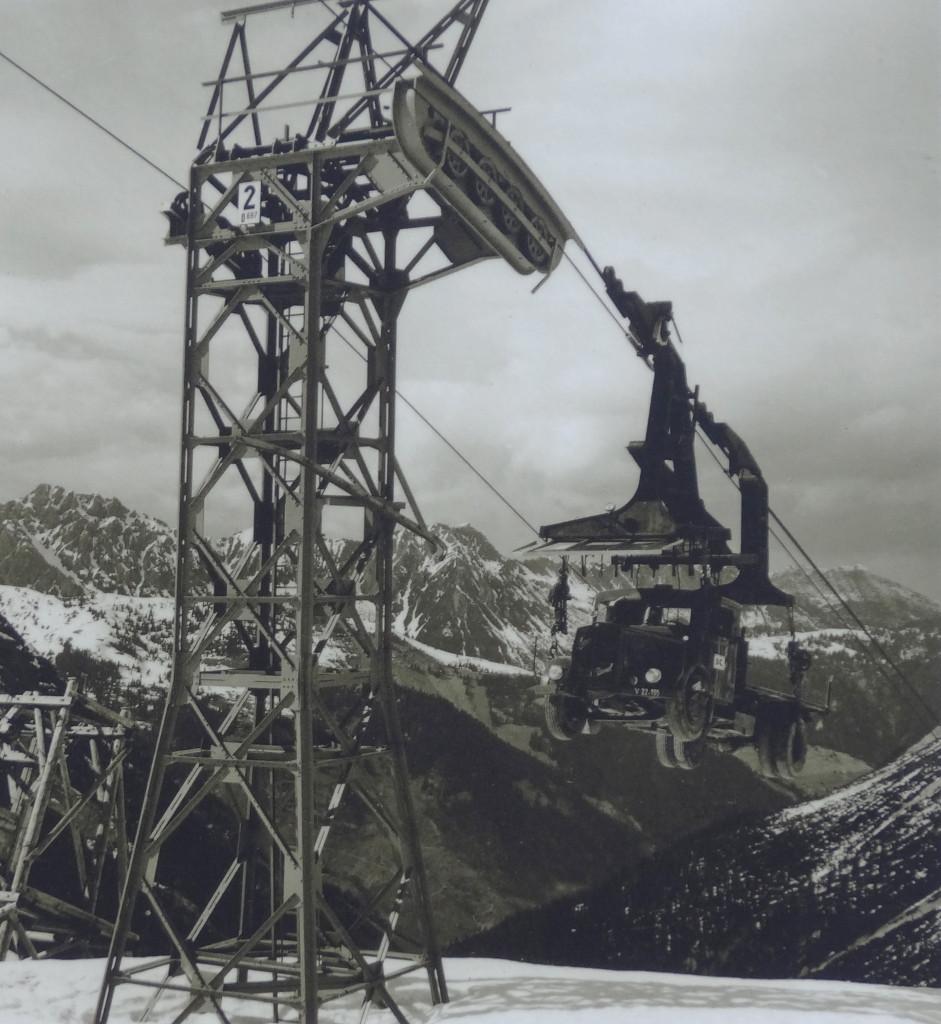 1958, Lünersee-Bahn