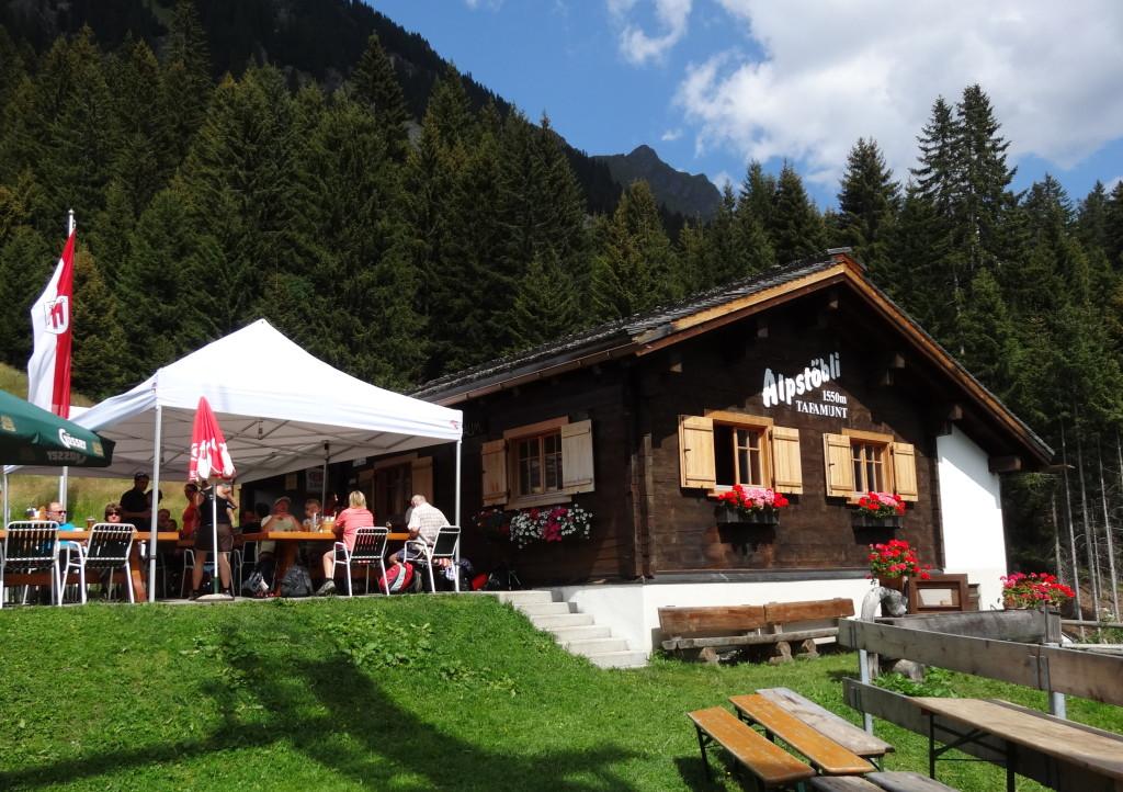 Bergstation Tafamunt (1530 m)