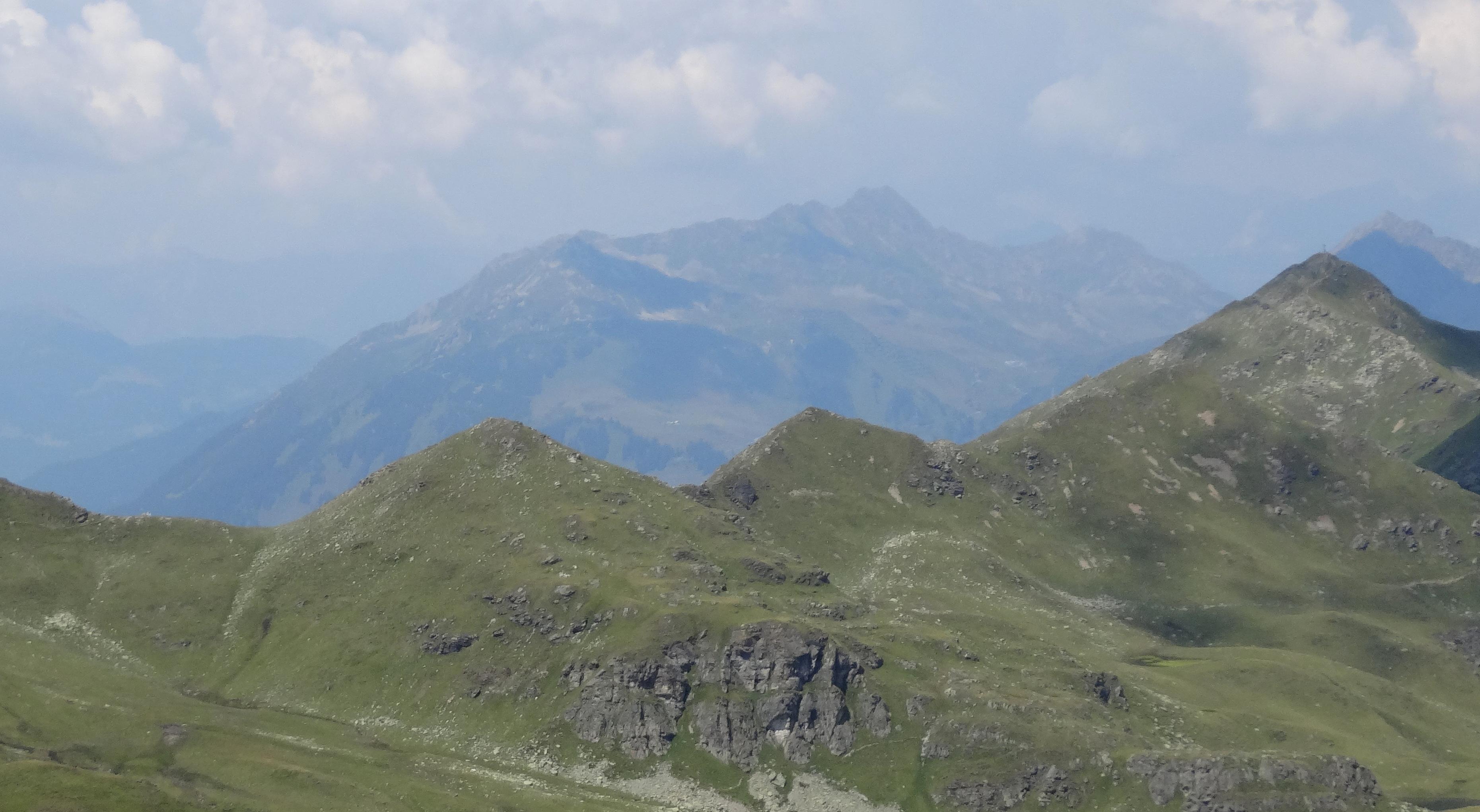Klettersteig Madrisella : Klettersteig punteglias surselva